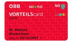 ÖBB VORTEILScard или путешествуем по Австрии бюджетно