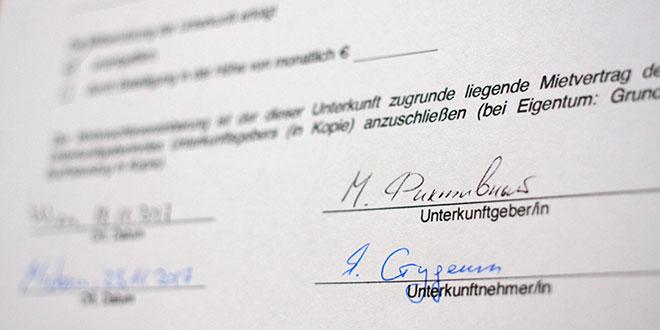 Фиктивный договор аренды в Австрии